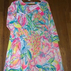 NWT Lilly Pulitzer Ophelia Dress fiesta bamba